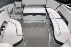J-Wrap Seating Configuration of the 2021 Crownline 290 SS Bowrider Boat