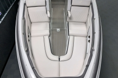 Deluxe Color Matched Interior of the 2021 Crownline 290 SS Bowrider Boat