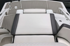 Social Swim Transom of the 2021 Crownline 290 SS Bowrider Boat