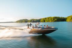 Prism Graphics on the 2022 Moomba Craz Wake Boat