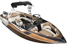Copper Rush Metal Flake on the 2022 Moomba Craz Wake Boat