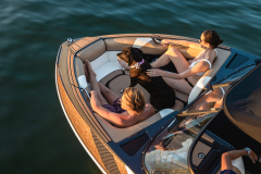 Bow Filler Cushion of the 2022 Moomba Craz Wake Boat