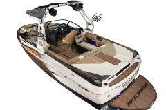 Interior Layout of the 2022 Moomba Craz Wake Boat