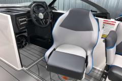 Helm Seat of the 2021 Moomba Craz Wake Boat