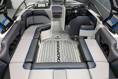 Interior Cockpit Layout of the 2021 Moomba Craz Wake Boat