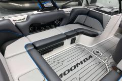 Interior Seating of the 2021 Moomba Craz Wake Boat