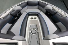 Interior Bow Layout of the 2021 Moomba Craz Wake Boat