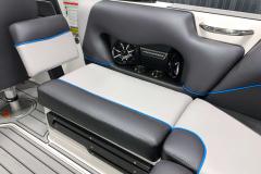 Rear-Facing Seat Back of the 2021 Moomba Craz Wake Boat