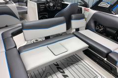Convertible Rear-Facing Seat of the 2021 Moomba Craz Wake Boat