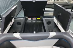 Transom Storage of the 2021 Moomba Craz Wake Boat