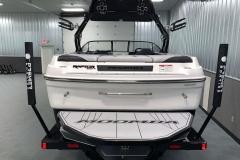 Fiberglass Swim Platform of the 2021 Moomba Craz Wake Boat