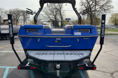 Surf Pipe Exhaust of the 2021 Moomba Kaiyen Wake Boat