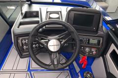 "7"" Touchscreen Display of the 2021 Moomba Kaiyen Wake Boat"