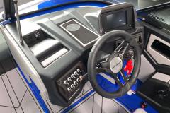 Helm of the 2021 Moomba Kaiyen Wake Boat