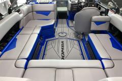 Gatorstep Flooring of the 2021 Moomba Kaiyen Wake Boat