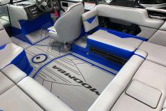 Removable Seat Back Kit of the 2021 Moomba Kaiyen Wake Boat