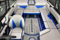 Interior Cockpit Layout of the 2021 Moomba Kaiyen Wake Boat