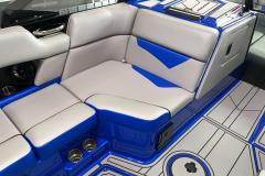 Captain Blue Seat Boxing on the 2021 Moomba Kaiyen Wake Boat