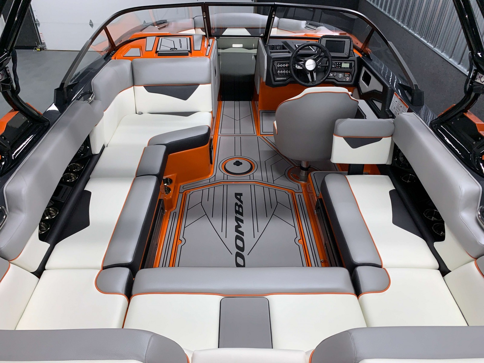 Interior Layout of the 2021 Moomba Kaiyen Wake Boat