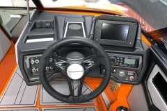 "7"" Touchscreen Display of the 2021 Moomba Kaiyen Wake Boat"