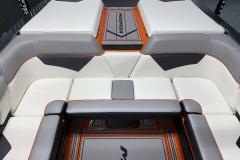 Rear Interior Layout of the 2021 Moomba Kaiyen Wake Boat