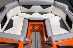 Interior Bow Layout of the 2021 Moomba Kaiyen Wake Boat