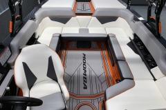 Custom GatorStep Flooring of the 2021 Moomba Kaiyen Wake Boat