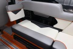Drivers Side Seat Back Kit of the 2021 Moomba Kaiyen Wake Boat