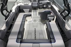 Interior Layout of the 2021 Moomba Max Wake Boat