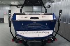 Fiberglass Swim Platform of the 2021 Moomba Max Wake Boat