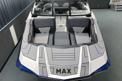 Wide Bow Design of the 2021 Moomba Max Wake Boat