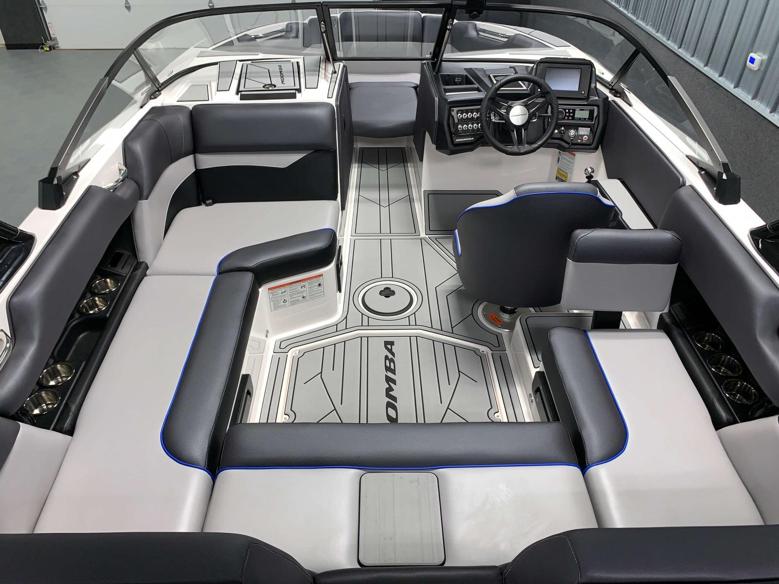 Interior Layout of the 2021 Moomba Mondo Wake Boat