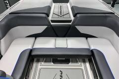 Transom Walk-Through With Step Pad of the 2021 Moomba Mondo Wake Boat