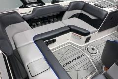 Interior Seating of the 2021 Moomba Mondo Wake Boat