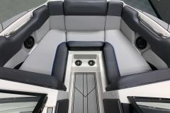 Spacious Bow Layout of the 2021 Moomba Mondo Wake Boat