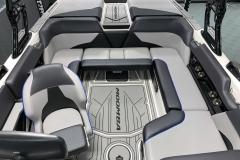 Rear Cockpit Layout of the 2021 Moomba Mondo Wake Boat