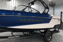 Moomba Middie Premium Logo on the 2021 Moomba Mondo Wake Boat