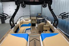 Premium A3 Tower Accessories on the 2021 Moomba Mondo Wake Boat