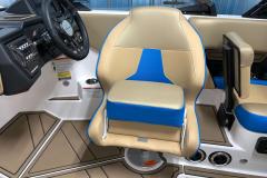 Captain's Bolster Seat of the 2021 Moomba Mondo Wake Boat