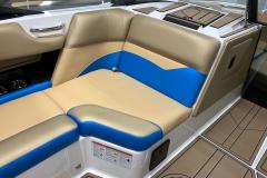 Recessed Glove Box of the 2021 Moomba Mondo Wake Boat
