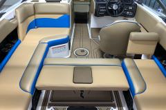 Convertible Rear Facing Seat of the 2021 Moomba Mondo Wake Boat
