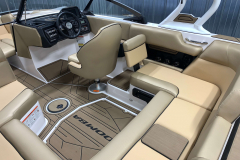 Non-Skid GatorStep Flooring on the 2021 Moomba Mondo Wake Boat