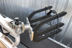 Swivel Board Racks on the 2021 Moomba Mondo Wake Boat