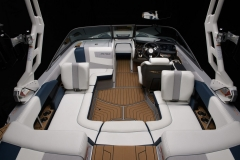 Seadek Vinyl Flooring of the 2022 Nautique 210 Wake Boat