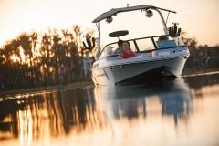 Sunset Cruise on the 2022 Nautique 210 Wake Boat