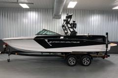 Custom Boatmate Trailer of the 2021 Nautique 230 Wake Boat