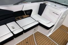 Recessed Glove Box of the 2021 Nautique 230 Wake Boat