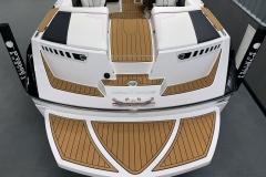 Transom of the 2021 Nautique 230 Wake Boat