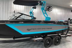 Custom Boatmate Trailer of the 2021 Nautique GS22 Wake Boat