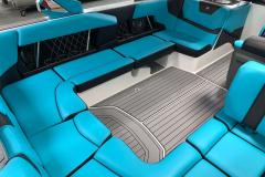 SeaDek Vinyl Flooring of the 2021 Nautique GS22 Wake Boat